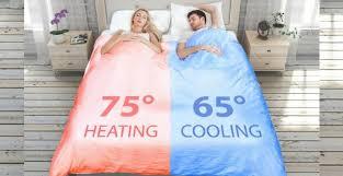 pimp my schlaf die richtige temperatur für jede bettseite
