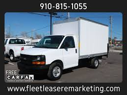 100 Lift Gate Truck 2014 Used Chevrolet G3500 Express Box 12 Foot Box With