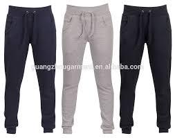casual wholesale custom men u0027s cotton blank training running track
