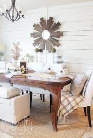 Late Fall Home Tour 2016 Farmhouse Dining RoomsHome