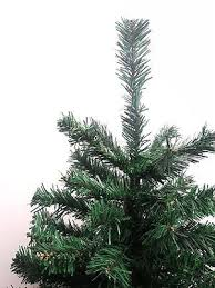 2 Of 4 DLUX Mini Ft Christmas Tree Artificial Charlie Pine Unlit Green