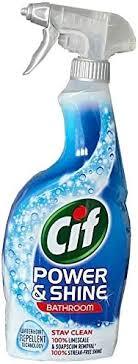cif power und shine badezimmer spray 6x 700 ml 6 stück pack