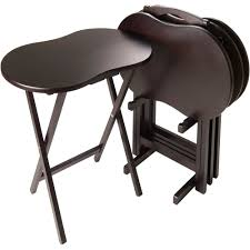 Sofa Snack Table Walmart by Tv Tray Tables Walmart Com