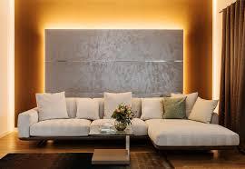 nobel paneel in metamur silber als blickfang im wohnzimmer