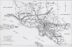 Maps California 1919 The Brydons