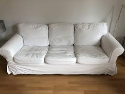 gemütliches 3er ikea sofa zu verschenken zu verschenken in