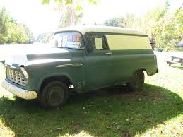 1956 Chevy 3100 Panel Truck