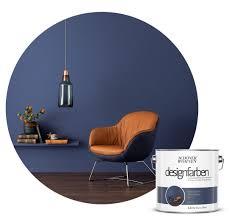 farbe designfarbe blau schöner wohnen kollektion