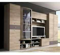 wohnwand kaia anbauwand modern schrank wohnzimmer led