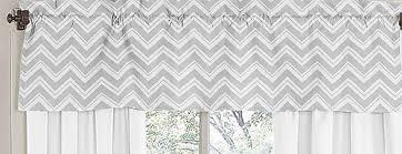 Sweet Jojo Chevron Curtains by Amazon Com Sweet Jojo Designs Window Valance For Yellow And Gray