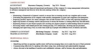 Accounting Resume Examples Design And Ideas Page 0