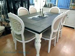 Chalk Paint Kitchen Table Painting A With Refinishing Large Size Of Dining Room Tables Pictures Ideas Tips Grey Kitche