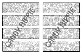 Printable Adult Coloring Bookmarks PDF By Candy Hippie Candyhippie