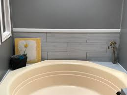 Smart Tiles Peel And Stick Australia by Groutable White Waza Peel And Stick Travertine Vinyl Tile Used For