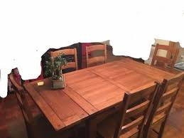 Wooden Dining Table With 6 Chairs Bought At Tequila Kola