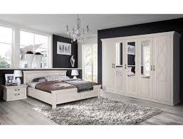 schlafzimmer kasimir 73 pinie weiß bett 180x200 2x nako schrank expendio