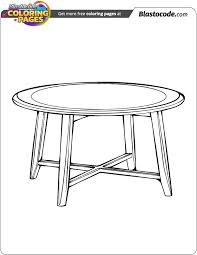 Related Coloring Pages Round Table