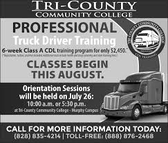 Professional Truck Driver Training In Murphy, NC, Colleges ... Professional Truck Driver Traing In Murphy Nc Colleges Cdl Driving Schools Roehl Transport Roehljobs 28 Resume For Cdl Free Best Templates Free Cdl Traing Md Yolarcinetonicco Mccann School Of Business Job Fair Roadmaster Drivers California Advanced Career Institute Commercial New Castle Trades And Company Sponsored Class C License Union Gap Yakima Wa Ipdent Custom Diesel Testing Omaha Practice Test Free 2018 All Endorsements