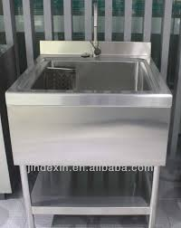 Stainless Steel Mop Sink by Freestanding Commercial Stainless Steel Kitchen Sink Freestanding