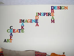 decorative words for walls wall words fancy as wall decor for cool wall