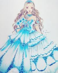 Dress Is By Viony O On Instagram Do Check Her Out Drawing Me