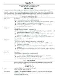 Clinical Dietitian Resume Examples Templates Of Template Dietetics Social Media Specialist Example Templat