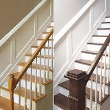DIY: How To Stain And Paint An OAK Banister, Spindles, And Newel ... Best 25 Spindles For Stairs Ideas On Pinterest Iron Stair Remodelaholic Diy Stair Banister Makeover Using Gel Stain 9 Best Stairs Images Makeover Redo And How To Paint An Oak Newel Like Sanding Repating Balusters Httpwwwkelseyquan Chic A Shoestring Decorating Railings Ideas Collection My Humongous Diy Fail Your Renovations Refishing Staing Staircase Traditional Stop Chamfered Style Pine 1 Howtos Two Points Honesty Refishing Oak Railings
