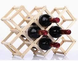 100 Wine Rack Hours Toronto JJJJD Wood Storage Display Shelves Folding Wooden Standing