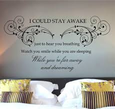 Bedroom Wall Decals Newhomesandrews