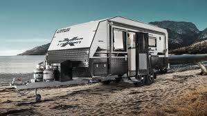 Heavy Duty Off Road Caravan Doesnt Leave Luxury Behind