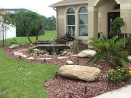 Garden Ideas : Fake Landscaping Rocks Types Of Landscaping Rocks ... Outdoor Living Cute Rock Garden Design Idea Creative Best 20 River Landscaping Ideas On Pinterest With Lava Fleagorcom Natural Landscape On A Sloped And Wooded Backyard Backyards Small Under Front Window Yard Plans For Of 25 Rock Landscaping Ideas Diy Using Stones Interior 41 Stunning Pictures Startling Gardens