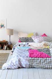 urban outfitters pattern block bedding hibrid