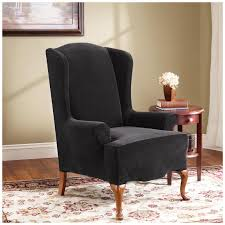 Sure Fit Wing Chair Recliner Slipcover by Sure Fit Stretch Pearson Wing Chair Slipcover 292826 Furniture