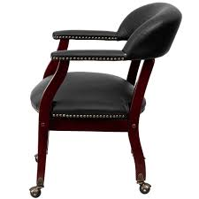 Amazon.com - Upholstered Dining Chairs With Nailheads And Wheels ...