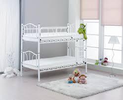 white metal bunk beds bernards 39043952x2 edison twin over twin