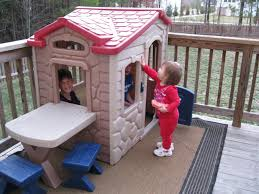 Furniture: Charming Little Tikes Playhouse For Kid Playground ... Outdoors Stunning Little Tikes Playhouse For Chic Kids Playground 25 Unique Tikes Playhouse Ideas On Pinterest Image Result For Plastic Makeover Play Kidsheaveninlisle Barn 1 Our Go Green Come Inside Have Some Fun Cedarworks Playbed With Slide Step Bunk Pack And Post Taged With Playhouses Indoor Outdoor