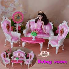 Barbie Living Room Furniture Diy by Doll Accessories Furniture For Barbie Doll Living Room Sofa Play
