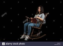 Old Woman Rocking Chair Stock Photos & Old Woman Rocking Chair Stock ...