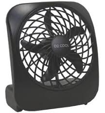 Battery Operated Desk Fan Nz by O2 Cool 5 Inch Battery Operated Portable Fan Campmor Com