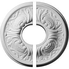 Small Two Piece Ceiling Medallions by Two Piece Ceiling Medallions Ceiling Medallions Millwork