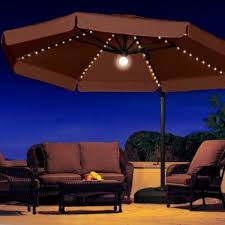 Solar Lighted Patio Umbrella by Creative Of Lighted Patio Umbrella Commercial Patio Umbrellas