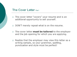 Resume Writing Workshop Ppt How To Sell Yourself In A Examples