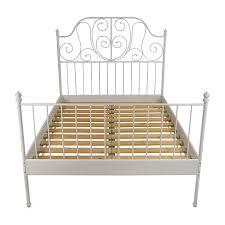 leirvik bed frame 65 room board room board king platform bed frame beds