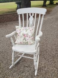 Shabby Chic Rocking Chair Painted In Old White | Chairs In 2019 ... Pine Shabby Chic Table And Chairs In Braintree For 4500 Sale French Grey Style Metal Garden Rocking Chair In A Shabby Chic Finish Fanstic Diy Fniture Ideas Tutorials Hative Wooden Rocking Chair Tonbridge Kent Gumtree Shocking The Little Shop Of Vintage Refurbisher Haverhill Cushion Project Exeter Cream Distressed Sweet Teas Antique Blue Painted Vinterior With A Twist Prodigal Pieces Fine Nursery White Mbel Amazon Roter Kaffeetisch Coutisch Rot Schn