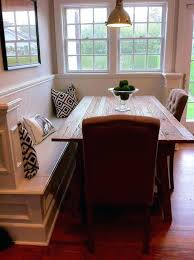 How To Build A Dining Room Bench Seat Seats Kitchen Table