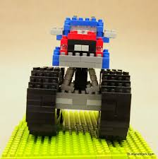 Christopher Tan: Nanoblock Monster Truck
