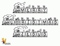 Download Coloring Pages Christmas Nativity Printable Scene Page Ba Jesus