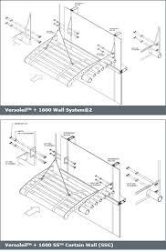 Kawneer Curtain Wall Revit by Kawneer Curtain Wall Details Rooms