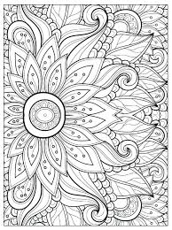 Coloring Page Flowers Flower Color Lot Harmonious Petals From Gallery And Pages Plant Parts Free Printable