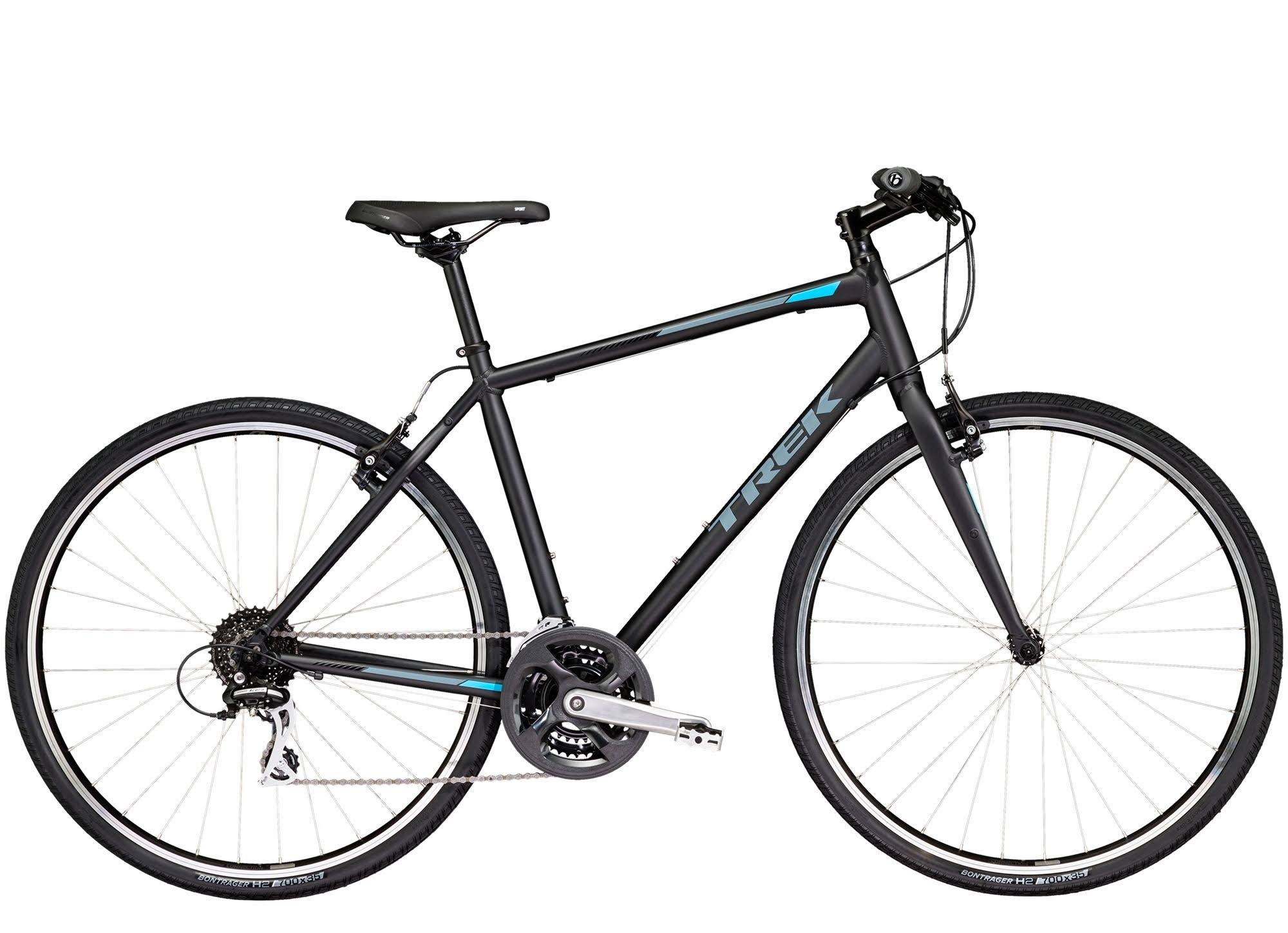 2019 Trek FX 2 Hybrid Bike in Black